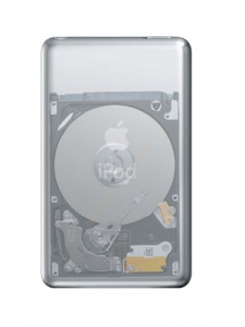 iPod Classic 6th gen 128 SD Card  Disk Upgrade/ Replacement