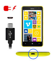 Nokia Lumia 710 Charging Port Repair Service