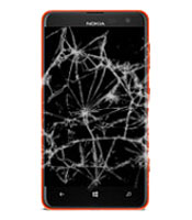 Nokia Lumia 620 Cracked, Broken or Damaged Screen Repair