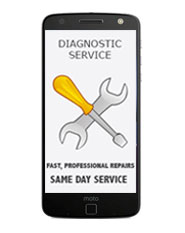 Motorola Moto Z Play Diagnostic Service / Repair Estimate