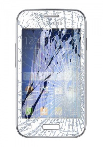 Samsung Galaxy Young 2 Complete Screen Repair / Touch Screen + LCD Display