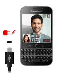 Blackberry Classic Q20 Charging Port Repair Service