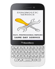 Blackberry Q5 Diagnostic Service / Repair Estimate