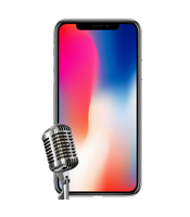 iPhone X Microphone Repair Service