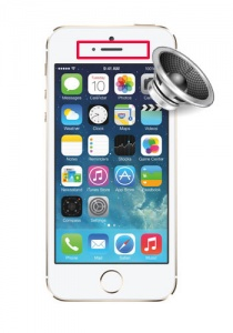 iPhone 5 earpiece speaker repair service