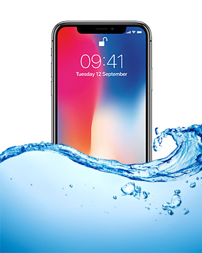 wholesale dealer c3bed 129d0 iPhone X Water Damage Inspection Service