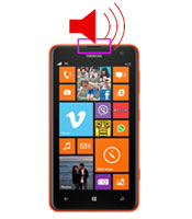 Nokia Lumia 1320 earpiece speaker repair service