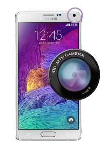 Samsung Galaxy Note 4 Front Camera Repair Service
