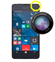 Microsoft Lumia 640 Front Camera Repair Service